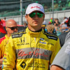 May 21-22: Townsend Bell during qualifications for the 100th running of the Indianapolis 500.