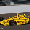 May 27: Helio Castroneves during Carb Day for the 100th running of the Indianapolis 500.