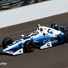 May 27: Max Chilton during Carb Day for the 100th running of the Indianapolis 500.