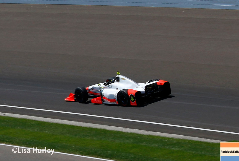 May 21-22: Jacque Lazier during qualifications for the 100th running of the Indianapolis 500.