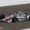 May 27: Will Power during Carb Day for the 100th running of the Indianapolis 500.