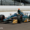 May 27: Ed Carpenter during Carb Day for the 100th running of the Indianapolis 500.
