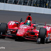 May 21-22: Graham Rahal during qualifications for the 100th running of the Indianapolis 500.