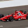 May 27: Grahan Rahal during Carb Day for the 100th running of the Indianapolis 500.
