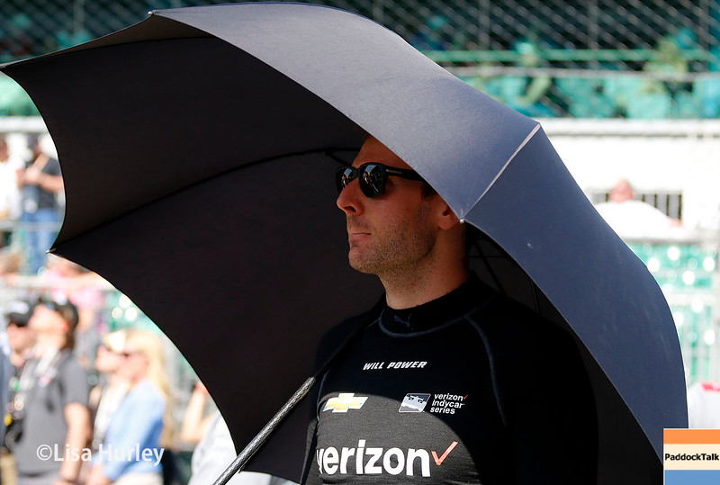 May 21-22: Will Power during qualifications for the 100th running of the Indianapolis 500.