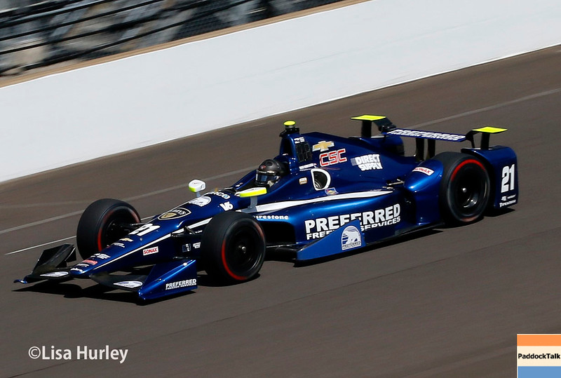 May 27: Josef Newgarden during Carb Day for the 100th running of the Indianapolis 500.