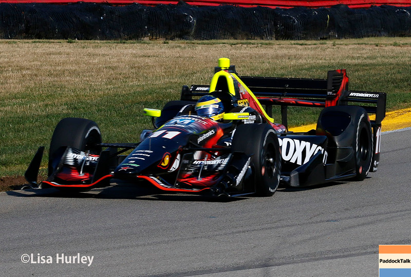 July 30-31: Sebastien Bourdais during The Honda Indy 200 at Mid-Ohio.