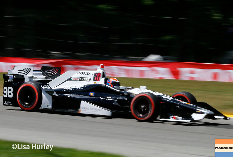 July 30-31:  Alexander Rossi during The Honda Indy 200 at Mid-Ohio.