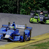 July 30-31:  Tony Kanaan and Charlie Kimball during The Honda Indy 200 at Mid-Ohio.