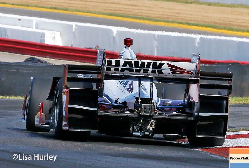 July 30-31:  Juan Pablo Montoya during The Honda Indy 200 at Mid-Ohio.