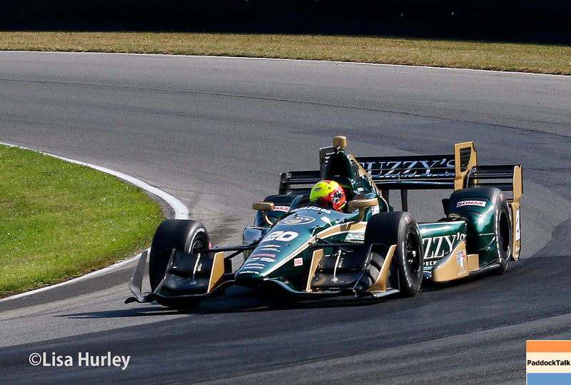 July 30-31: Spencer Pigot during The Honda Indy 200 at Mid-Ohio.
