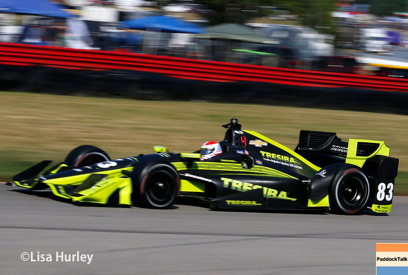 July 30-31: Charlie Kimball during The Honda Indy 200 at Mid-Ohio.