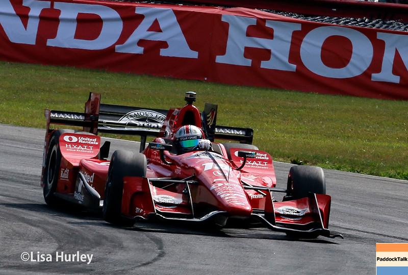 July 30-31:  Graham Rahal during The Honda Indy 200 at Mid-Ohio.