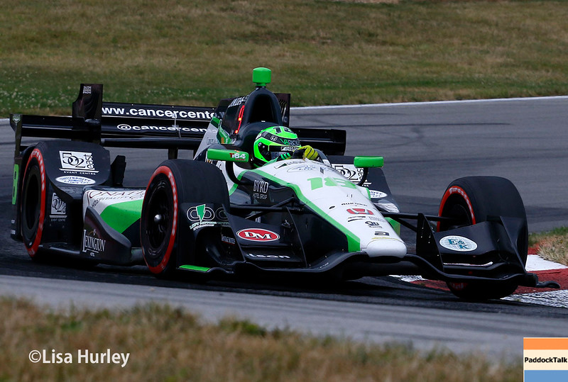 July 30-31: Conor Daly during The Honda Indy 200 at Mid-Ohio.