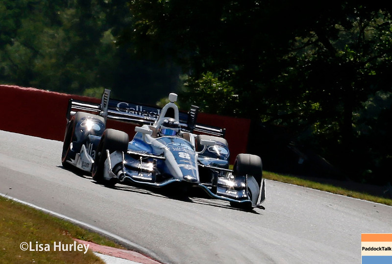 July 30-31:  Max Chilton during The Honda Indy 200 at Mid-Ohio.