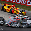 July 30-31: Will Power and Ryan Hunter-Reay during The Honda Indy 200 at Mid-Ohio.