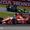 July 30-31: Scott Dixon and Charlie Kimball during The Honda Indy 200 at Mid-Ohio.