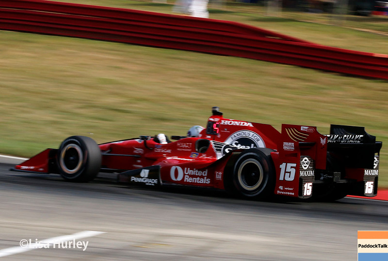 July 30-31: Graham Rahal during The Honda Indy 200 at Mid-Ohio.