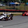 July 30-31: Juan Pablo Montoya and Scott Dixon during The Honda Indy 200 at Mid-Ohio.