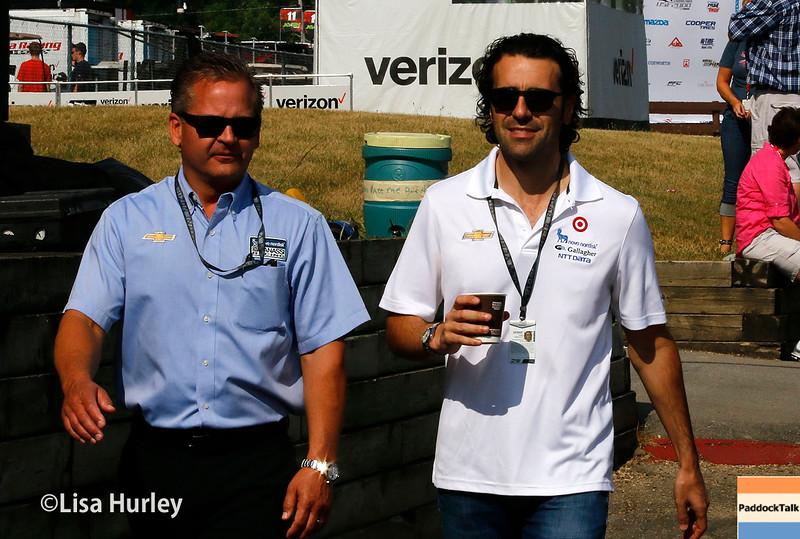 July 30-31: Dario Franchitti during The Honda Indy 200 at Mid-Ohio.