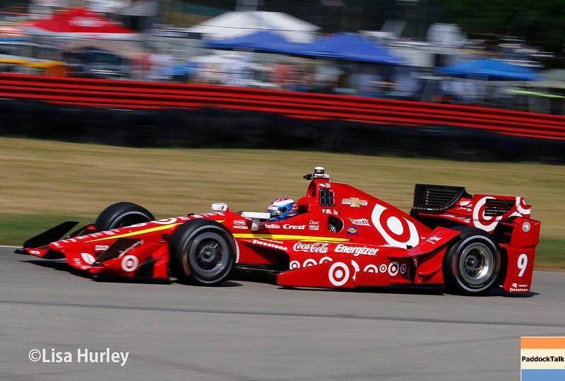 July 30-31: Scott Dixon during The Honda Indy 200 at Mid-Ohio.