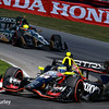 July 30-31: Spencer Pigot and Sebastien Bourdais during The Honda Indy 200 at Mid-Ohio.