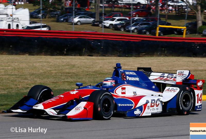 July 30-31: Takuma Sato during The Honda Indy 200 at Mid-Ohio.
