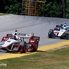July 30-31: Juan Pablo Montoya and RC Enerson during The Honda Indy 200 at Mid-Ohio.