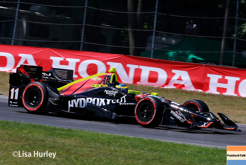 July 30-31: Sebastien Bourdais during The Honda Indy 200 at Mid-Ohio.