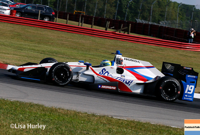 July 30-31: RC Enerson during The Honda Indy 200 at Mid-Ohio.