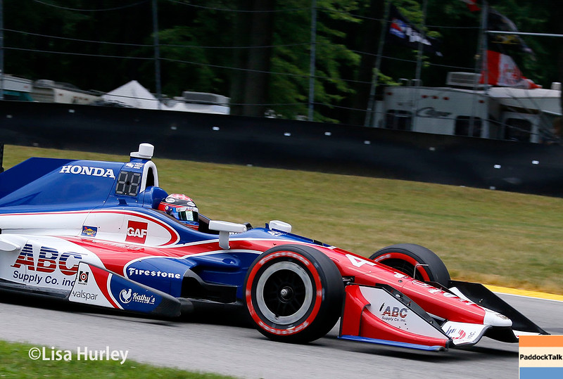 July 30-31: Jack Hawksworth during The Honda Indy 200 at Mid-Ohio.