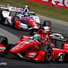 July 30-31: Jack Hawksworth and Graham Rahal during The Honda Indy 200 at Mid-Ohio.