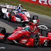 July 30-31: Jack Hawksworth and Graham Rahal during The Honda Indy 200 at Mid-Ohio.