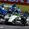 July 30-31: Conor Daly and Tony Kanaan during The Honda Indy 200 at Mid-Ohio.