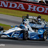 July 30-31: Simon Pagenaud and Josef Newgarden during The Honda Indy 200 at Mid-Ohio.