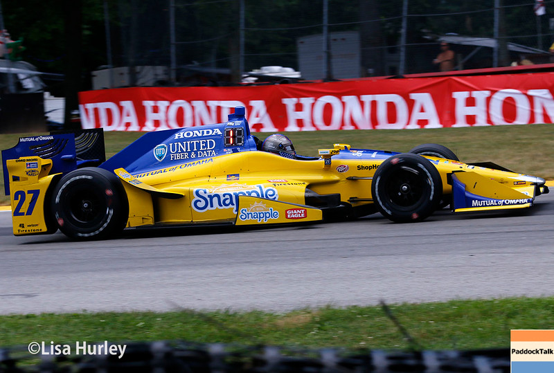 July 30-31: Marco Andretti during The Honda Indy 200 at Mid-Ohio.