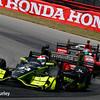 July 30-31: Charlie Kimball and Graham Rahal during The Honda Indy 200 at Mid-Ohio.