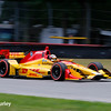July 30-31: Ryan Hunter-Reay during The Honda Indy 200 at Mid-Ohio.