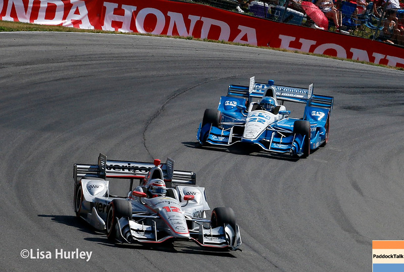 July 30-31: Will Power and Simon Pagenaud during The Honda Indy 200 at Mid-Ohio.