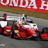 July 30-31: Carlos Munoz during The Honda Indy 200 at Mid-Ohio.