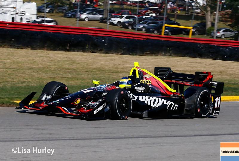 July 30-31: Sebastiean Bourdais during The Honda Indy 200 at Mid-Ohio.