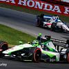 July 30-31: Conor Daly and RC Enerson during The Honda Indy 200 at Mid-Ohio.