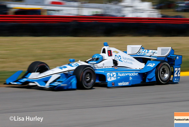 July 30-31: Simon Pagenaud during The Honda Indy 200 at Mid-Ohio.