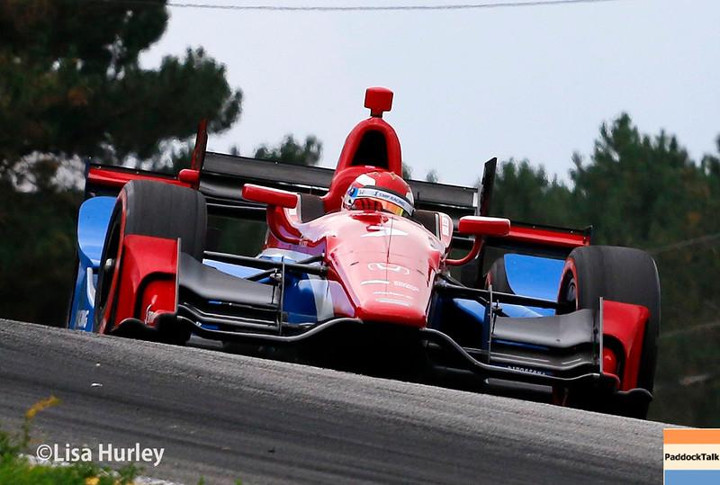 July 30-31: MIkhail Aleshin during The Honda Indy 200 at Mid-Ohio.