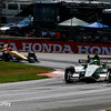 July 30-31:  James Hinchcliffe and Conor Daly during The Honda Indy 200 at Mid-Ohio.