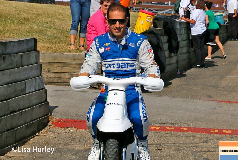 July 30-31: Tony Kanaan during The Honda Indy 200 at Mid-Ohio.