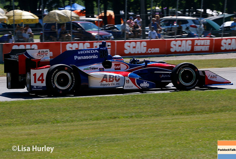 June 24-26: Takuma Sato during the Verizon IndyCar Series Kohler Grand Prix at Road America.