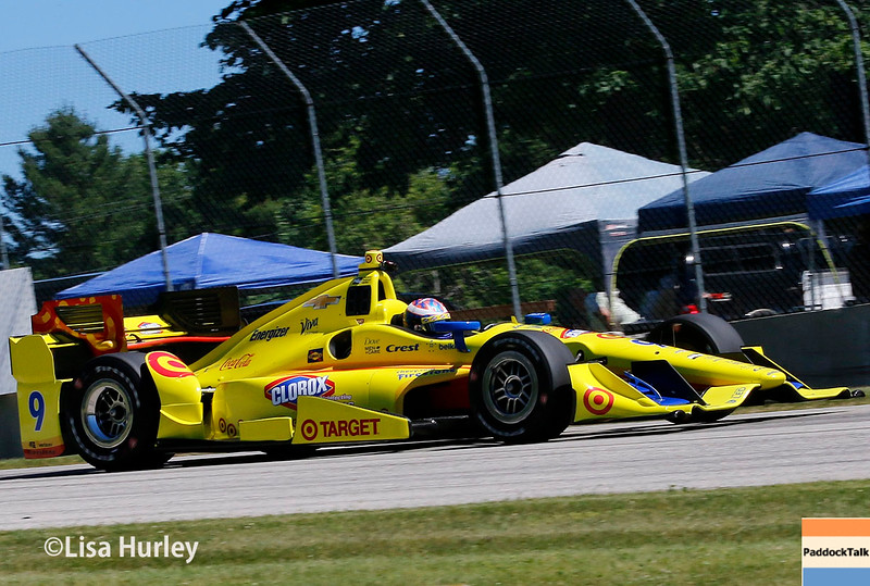 June 24-26: Scott Dixon during the Verizon IndyCar Series Kohler Grand Prix at Road America.