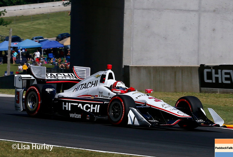 June 24-26: Helio Castroneves during the Verizon IndyCar Series Kohler Grand Prix at Road America.
