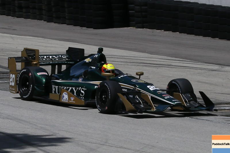 June 24-26: Spencer Pigot during the Verizon IndyCar Series Kohler Grand Prix at Road America.